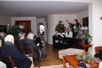 Muzikale Kerstwandeling Noordwijk 2011